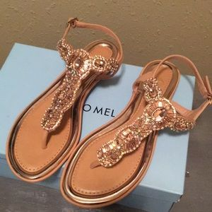🆕Antonio Melani embellished sandals